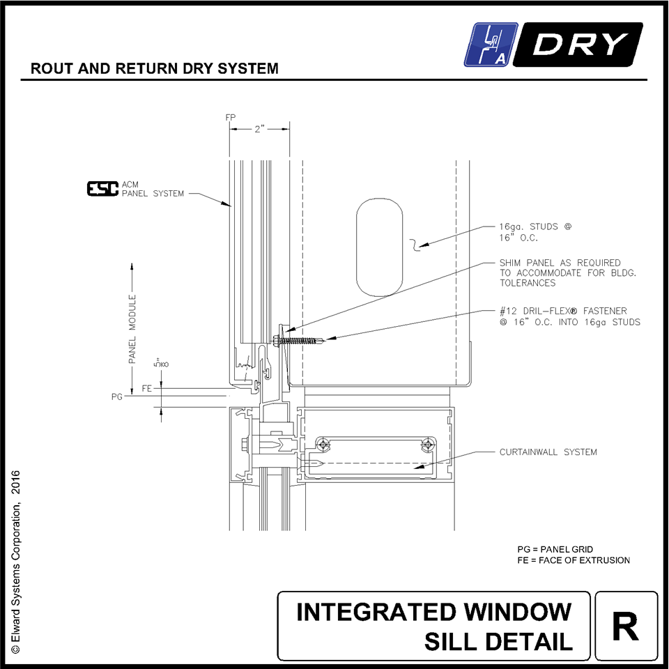 Rout Return Dry | Commercial Wall Paneling & Cladding Systems | Elward